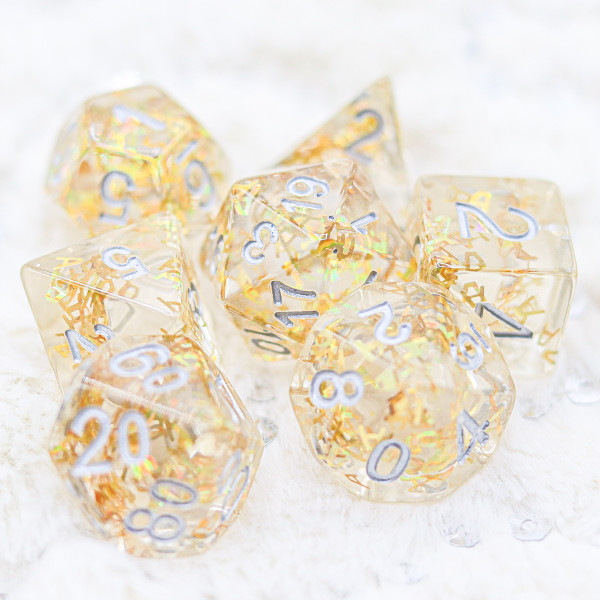 Letter Spell of Dragons DnD Dice