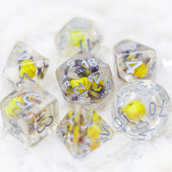 Blossom of Lily DnD Dice