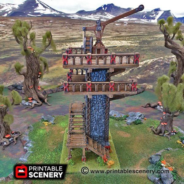 Dwarf Dwarven Ironhelm Skydock DnD Terrain