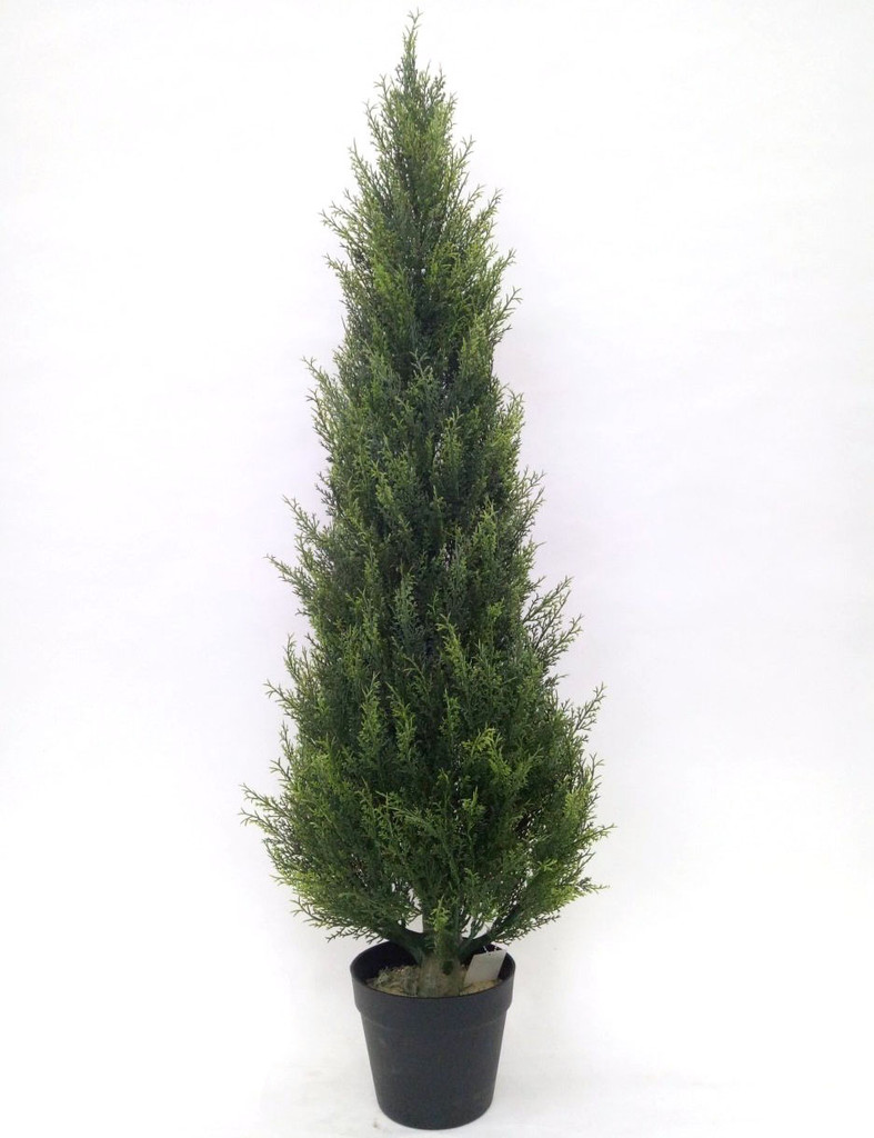 CYPRESS CONE TREE 4' (UV) FAUX