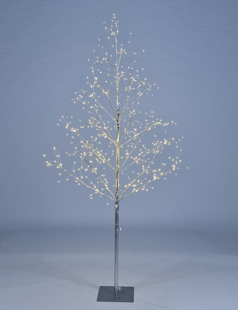STARLIT TREE 5 FT - SILVER