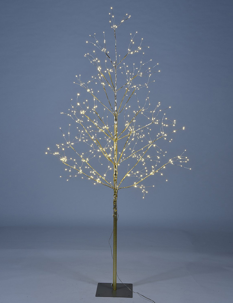 STARLIT TREE 5 FT - GOLD