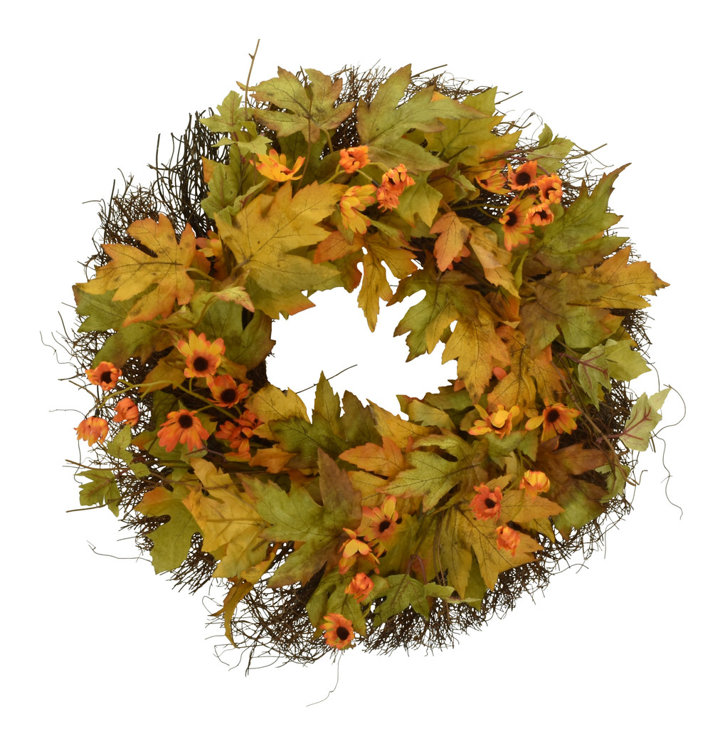 "FALL SUNSHINE 20"" WREATH"