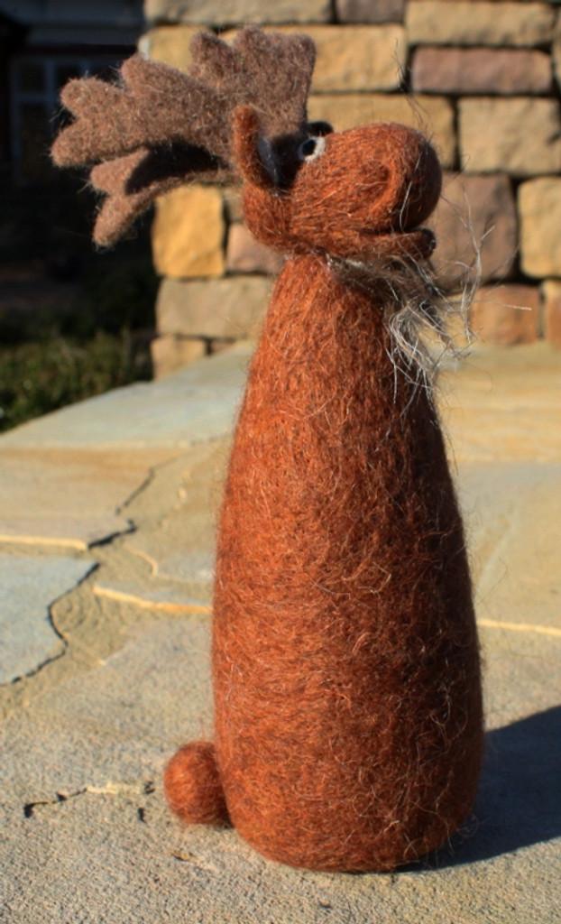Wooly Brown Moose - Large