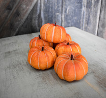 PUMPKINS - ORANGE - BAG OF 6 PCS
