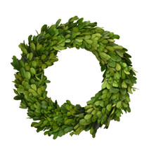 "BOXWOOD CANDLE RING - 10"" - MIN 2"