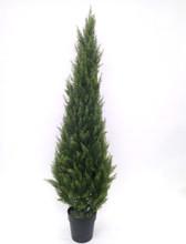 CYPRESS CONE TREE 5' (UV) FAUX