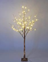 BROWN BIRCH TREE 6' LED - 72L