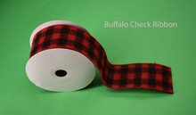 "BUFFALO CHECK RIBBON - 2.5"" X 10 YDS"