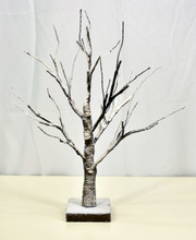 "LED SNOWY BONSAI TREE - 18"""