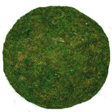 """MOSS BALL - GREEN - 12"""" LARGE - PACKED 2"""