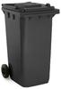 Black 240 Litre Wheelie Bin