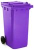 Purple 240 Litre Wheelie Bin