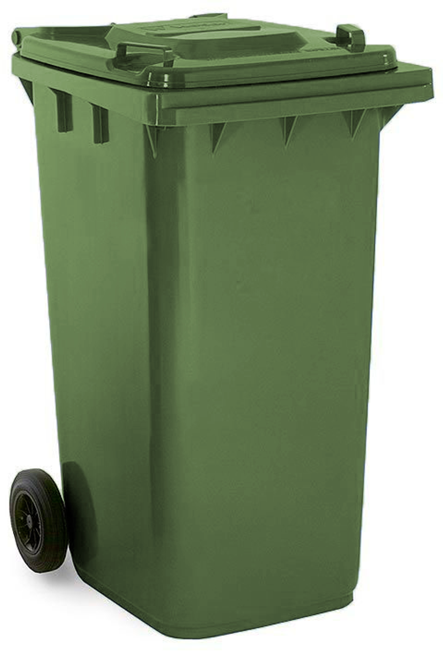 May Green 240 Litre Wheelie Bin