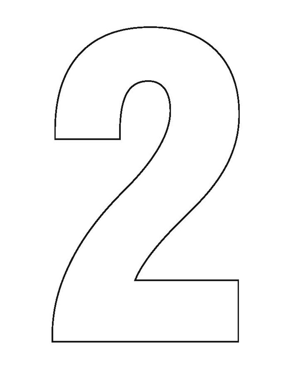 Wheelie Bin Number Sticker White Two