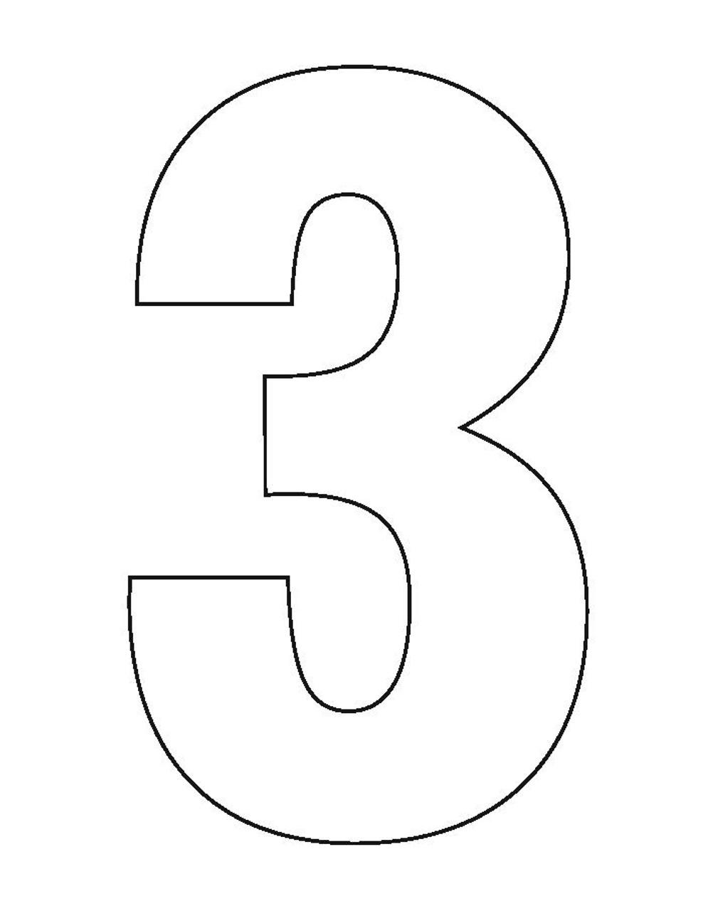 Wheelie Bin Number Sticker White Three
