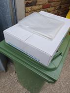 Wheelie Bin Liners 140L x 100 - Clear