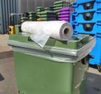 Wheelie Bin Liners 660/770L x 125 - Clear