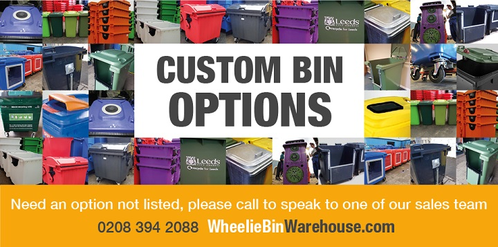 Custom Wheelie Bins