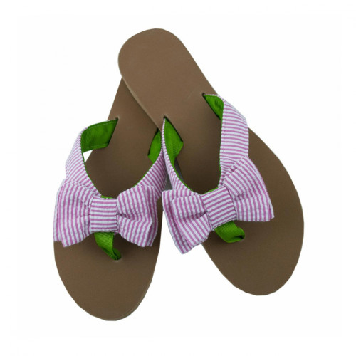 da70472075656a Comfortable Eliza B Flip Flop with Bow
