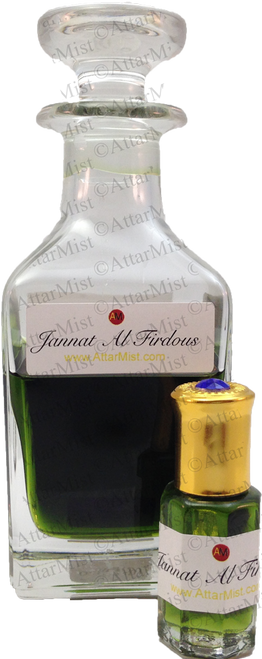 Jannat Al Firdous - spicy notes at AttarMist.com
