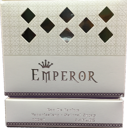 Beautifully boxed Emperor EDP