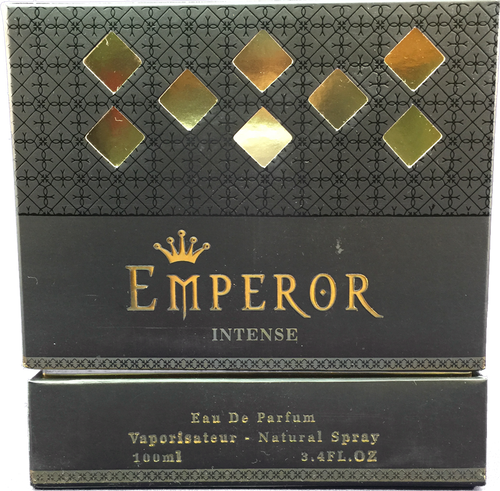 Beautifully boxed Emperor Intense EDP