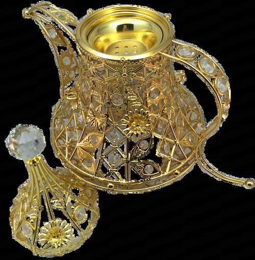 Intricate handcrafted mubkhara - AttarMist.com
