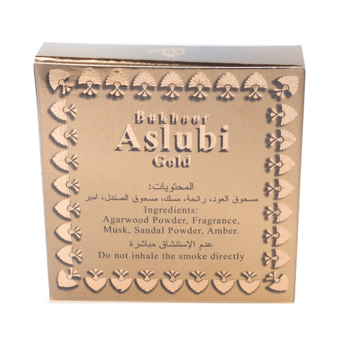 Bakhoor Aslubi	 Gold 40gm