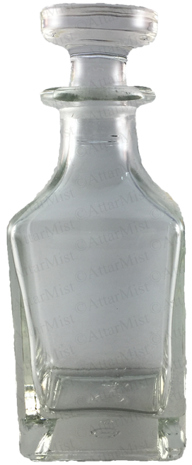 Clear Attar display bottle - AttarMist.com