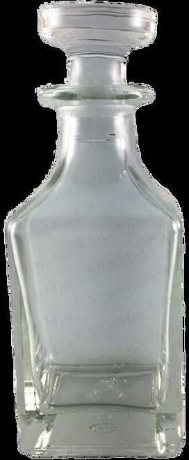 Clear Attar display bottle - AttarMist.com