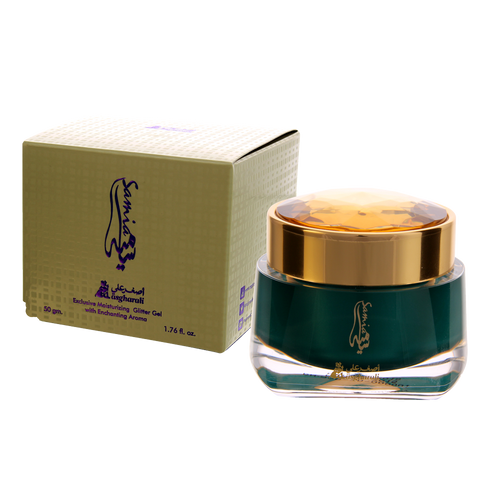 Samia Glitter Cream 50gm by Asghar Ali - AttarMist.com