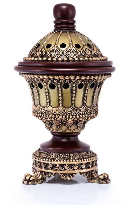 Luxury Chalice Incense Burner - Available at AttarMist.com