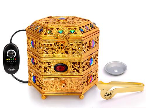 Gold Jewel Box Regulator Burner with Accessories