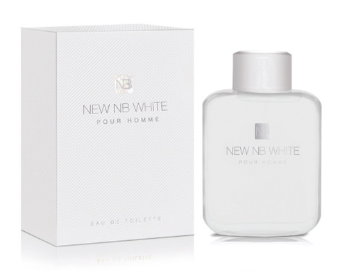 NEW NB WHITE POUR HOMME