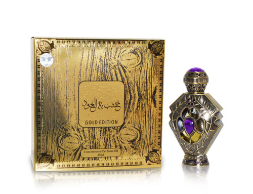 Khashab & Oudh Gold Edition CPO with box