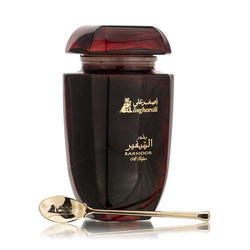 Luxurious Bakhoor Al Safeer with gold spoon