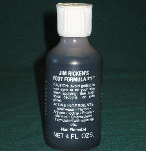 Jim Ricken's Foot Formula
