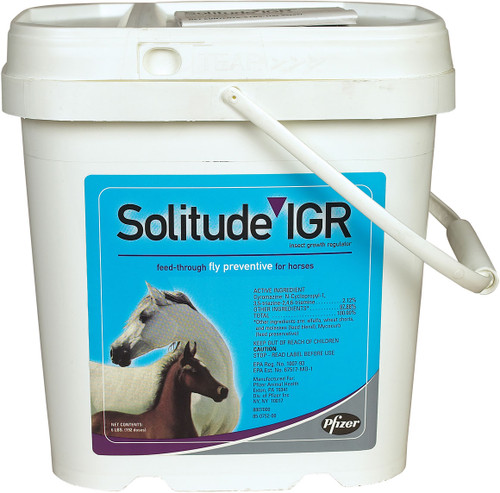 Solitude IGR Insect Growth Regulator Feed-Through Fly Preventive