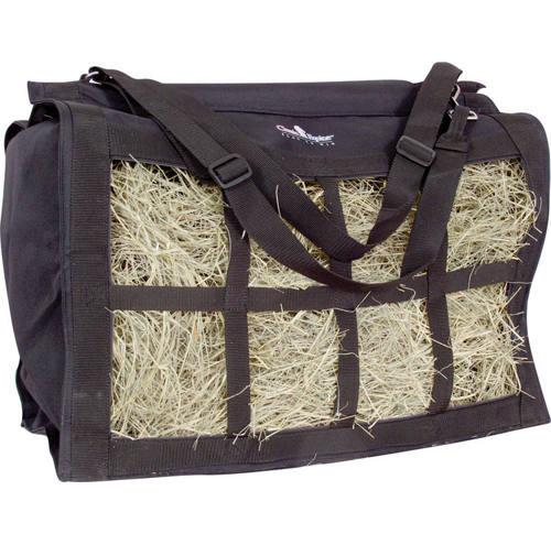 Classic Equine Black Top Load Hay Bag