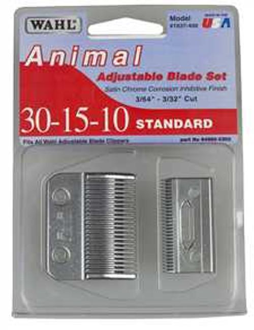 Wahl Standard 30-15-10 Adjustable Blade Set