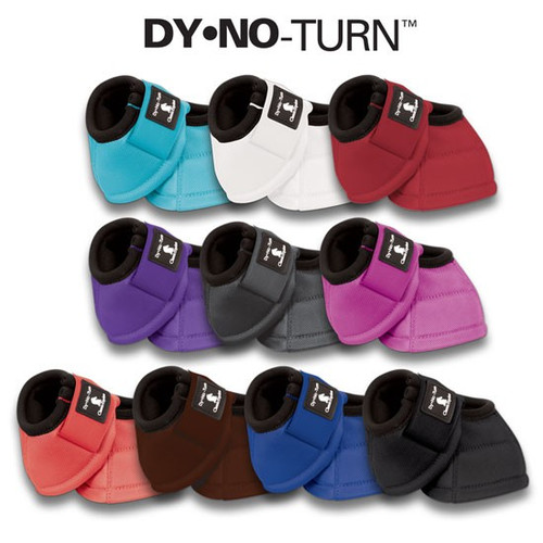 CLASSIC EQUINE DY-NO TURN BELL BOOTS