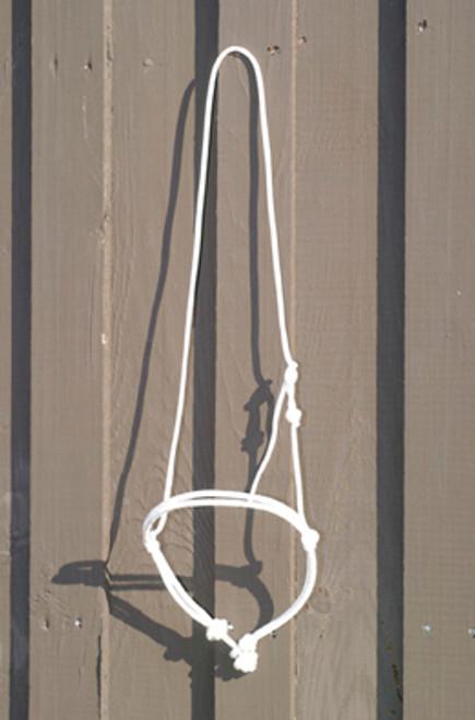 FG White Rope Noseband