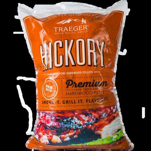 TRAEGER HICKORY BBQ HARDWOOD PELLETS