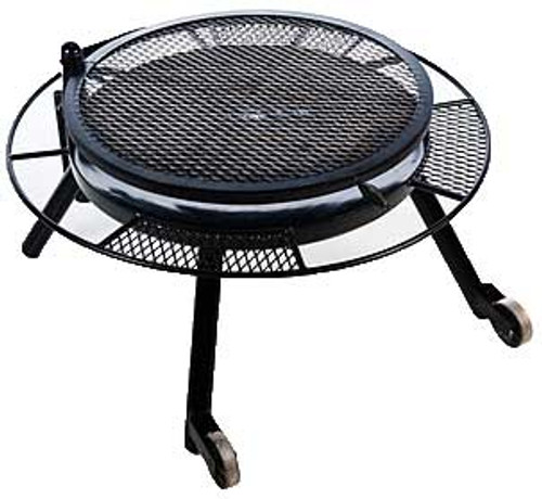 """36"""" FIRE PIT W/GRILL TOP"""