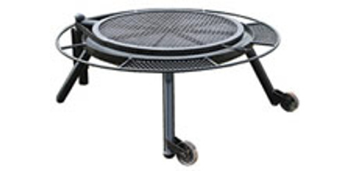 """48"""" FIRE PIT W/GRILL TOP"""