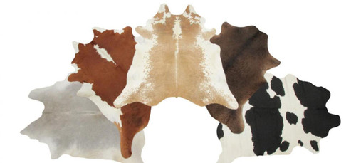 ASSORTED COWHIDES