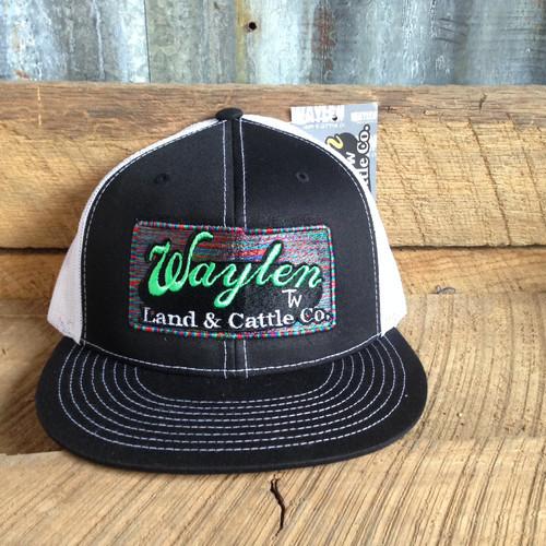 WAYLEN BLACK SERAPE MESH CAP