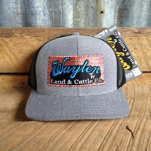 WAYLEN HEATHER GREY SERAPE MESH CAP
