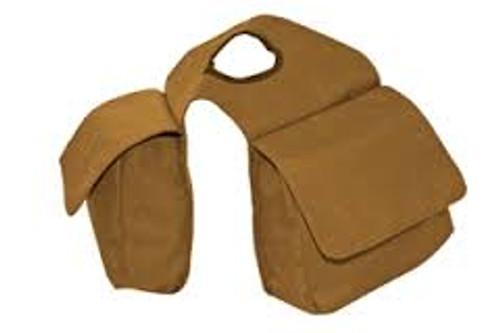 BROWN 2 POCKET HORN BAG